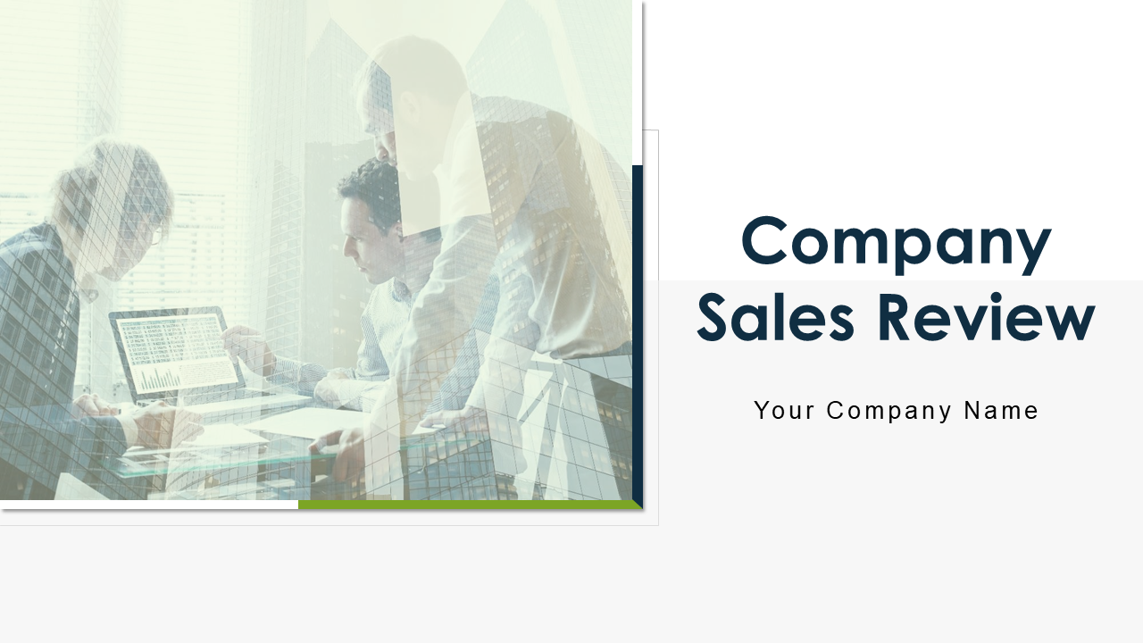 Company Sales Review