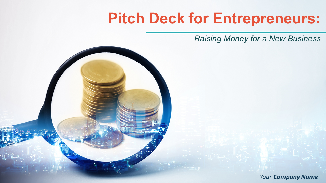 Pitch Deck For Entrepreneurs