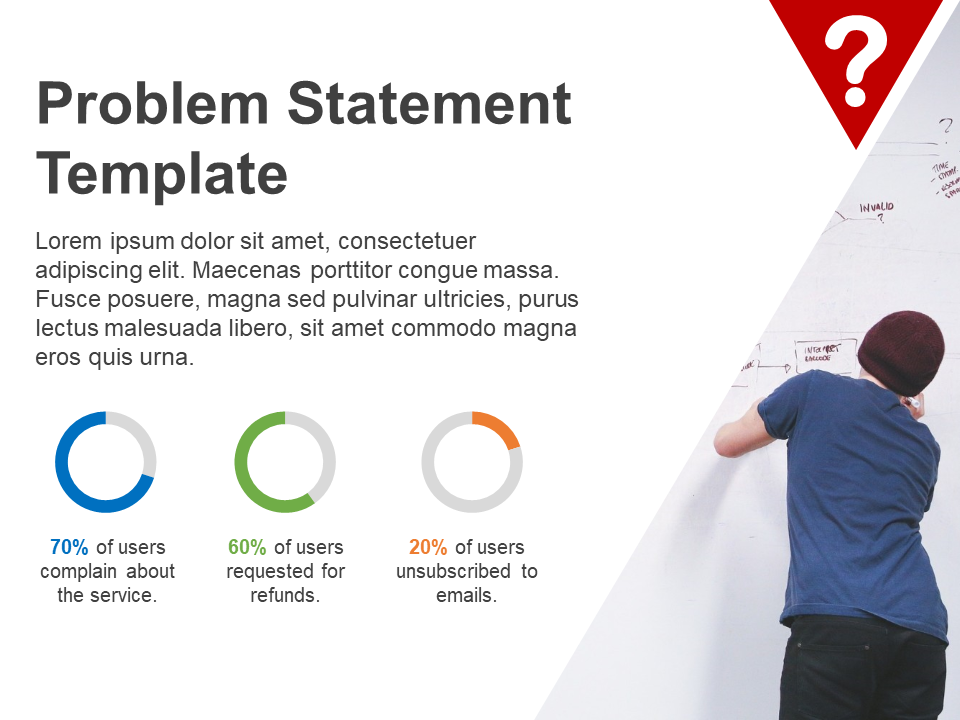 Problem Statement Free PowerPoint Template
