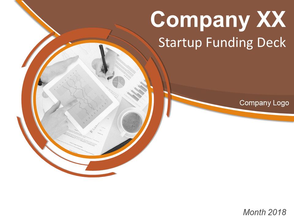 Startup Funding Deck