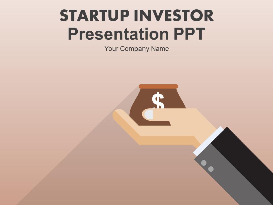 Startup Investor Presentation