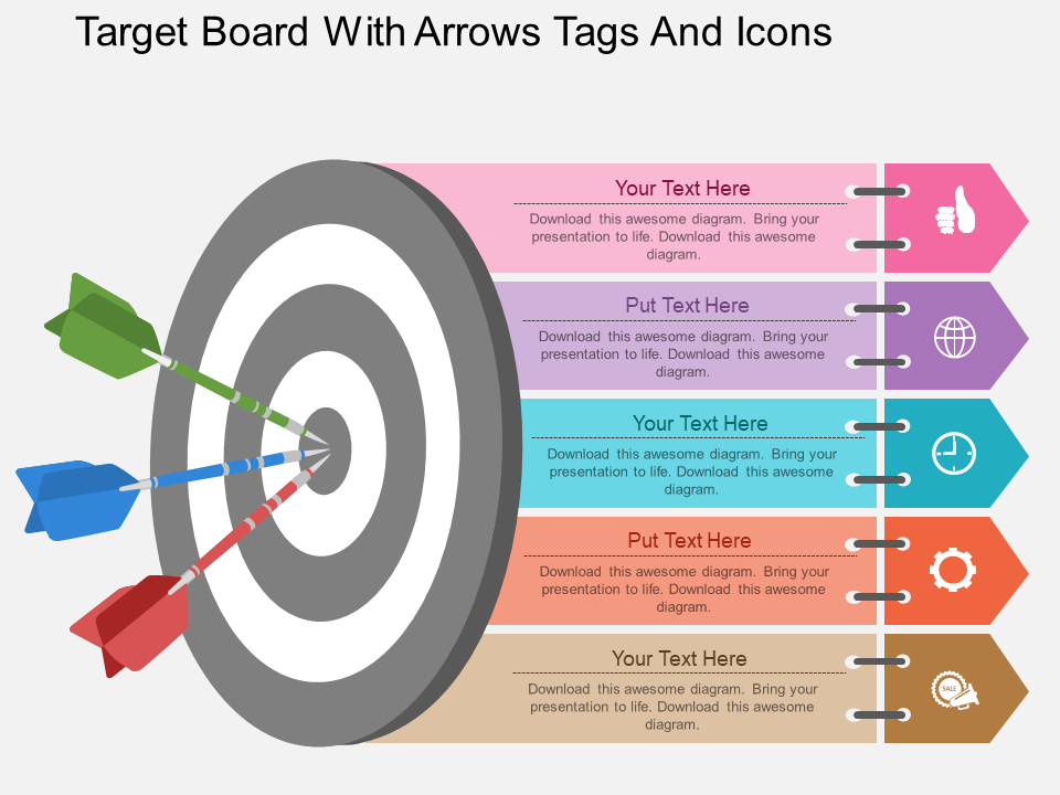 Targets Free PowerPoint Template