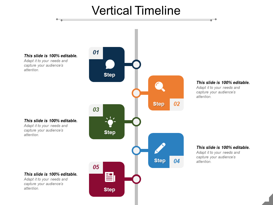 Timeline Free PowerPoint Template