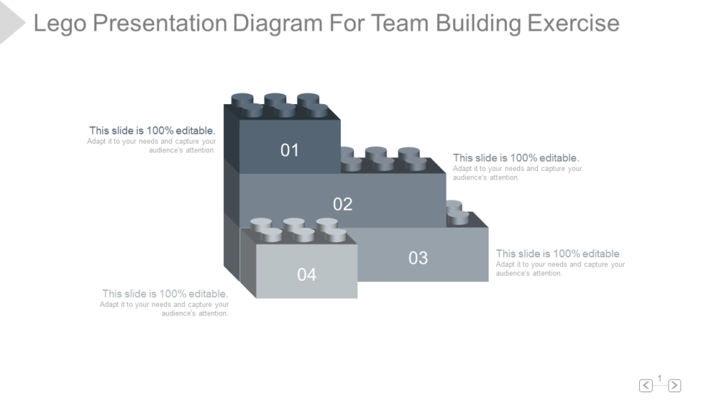Lego PowerPoint Template For Team Building