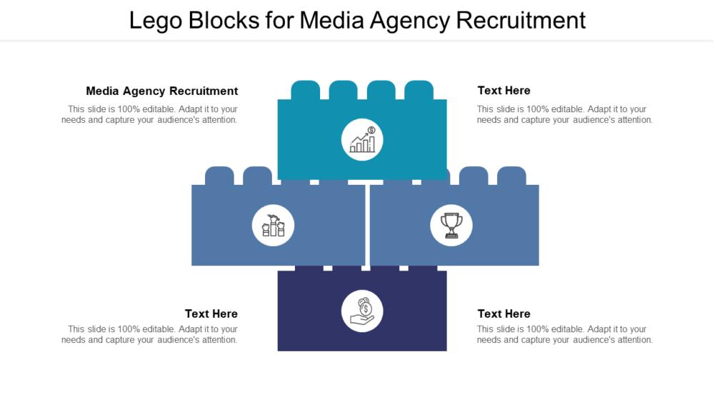 Lego Blocks for Media Agency Recruitment