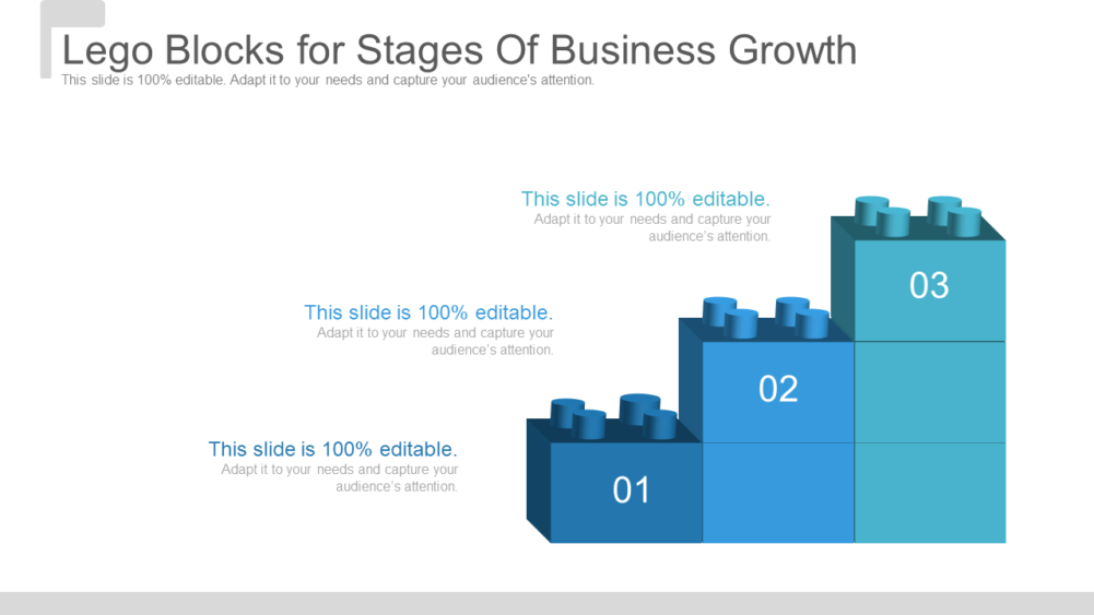 Lego Blocks for Stages Of Business Growth