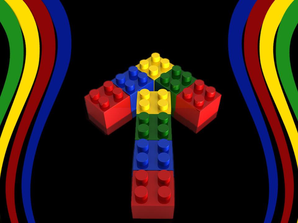 Lego Arrow Metaphor Strategy