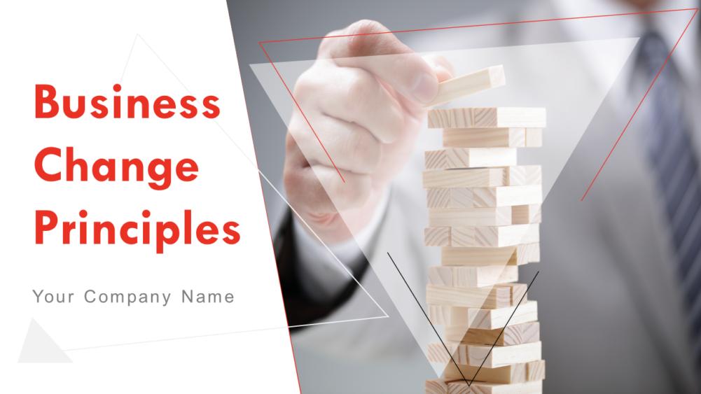 Business Change Principles
