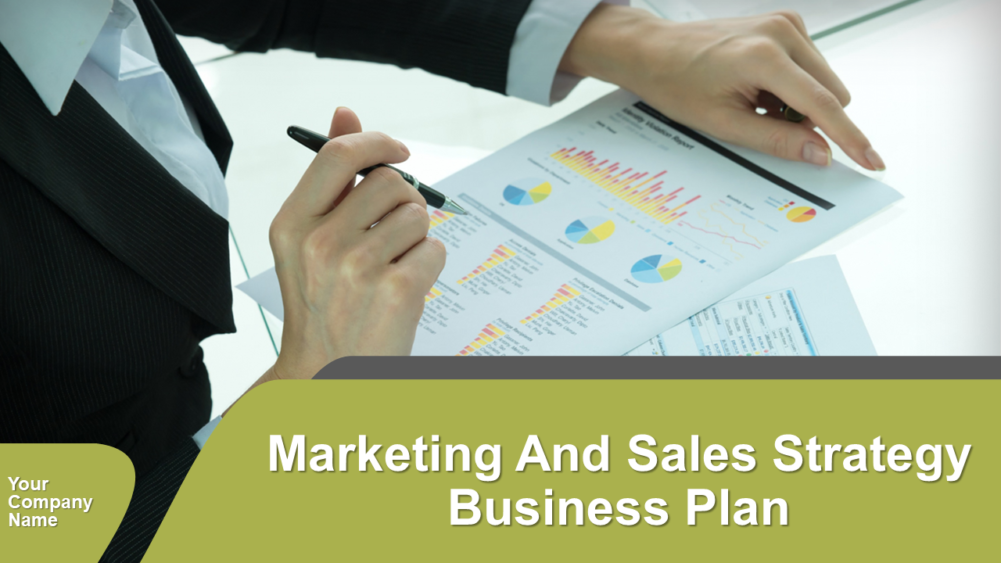 Marketing And Sales Strategy Business Plan