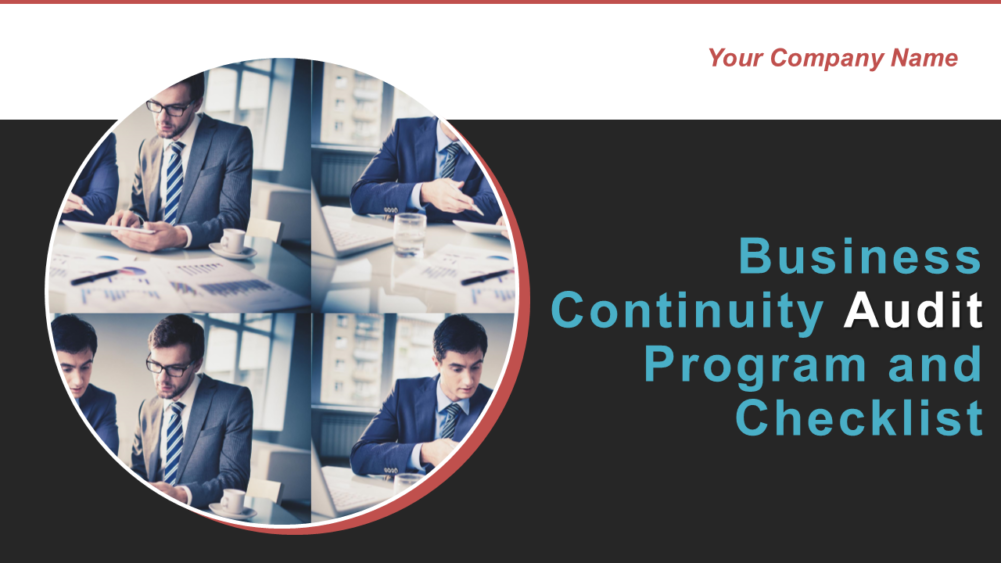 Business Continuity Audit Program And Checklist