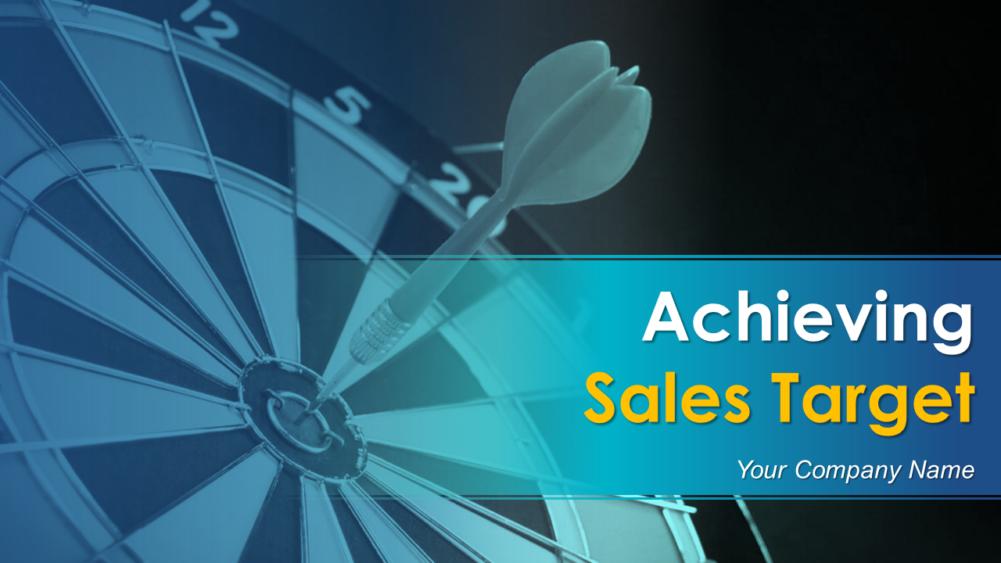 Achieving Sales Target