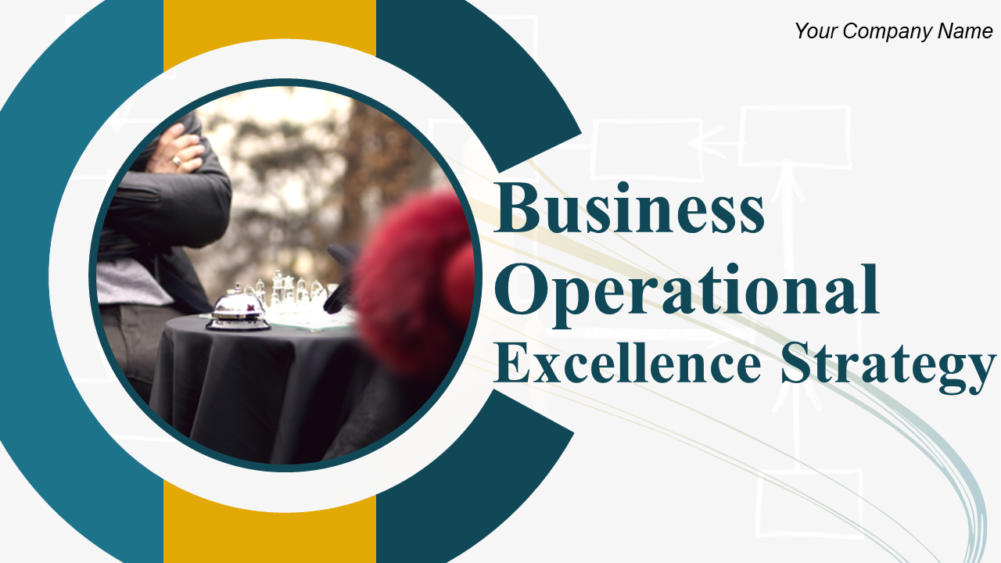 Business Operational Excellence Strategy