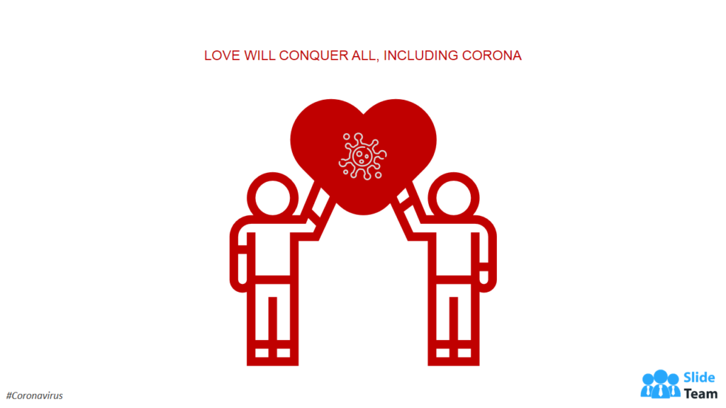 Spread the message of love in crises Coronavirus PPT