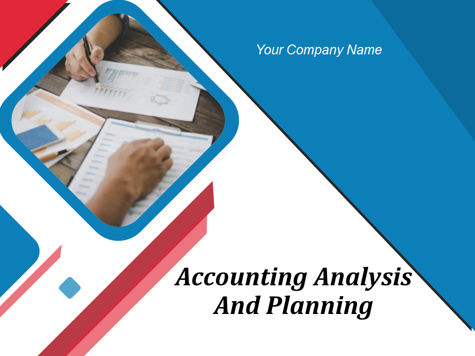 Accounting Analysis And Planning
