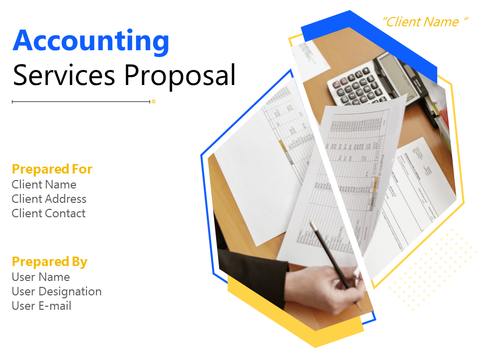 Accounting Services Proposal