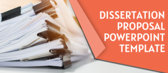 Dissertation Proposal Template You Must Follow to Ace Your Academic Projects