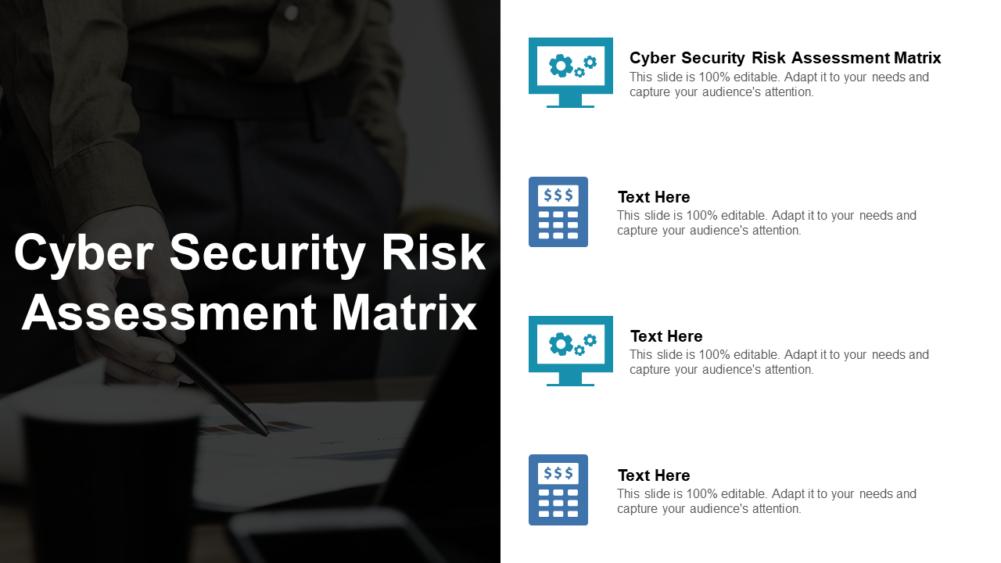 Cyber Security Risk Assessment Matrix