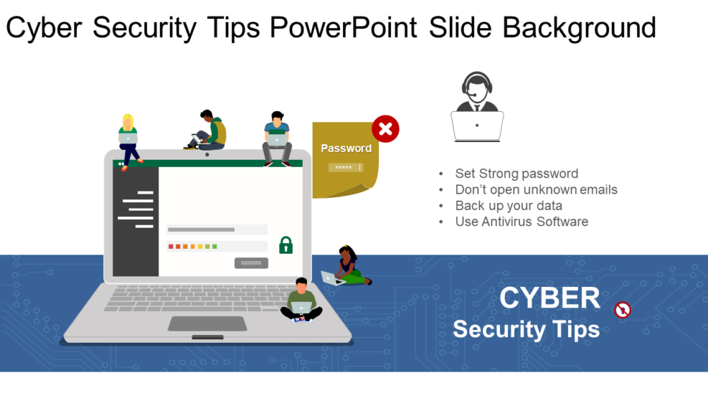 Cyber Security Tips Powerpoint