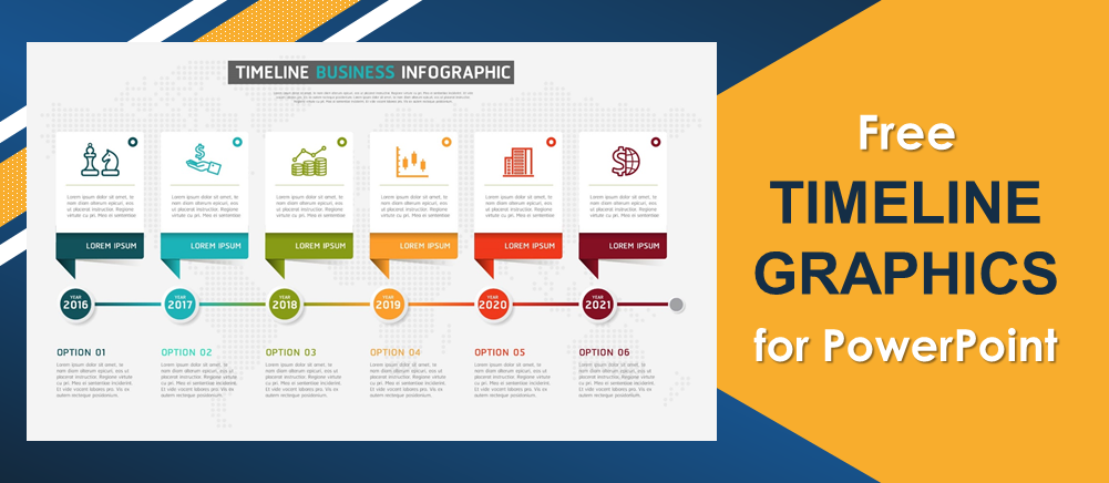 Free Timeline Graphics for PowerPoint to Streamline your Business Processes!