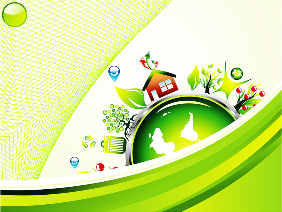 Go Green Environment Nature PowerPoint Template