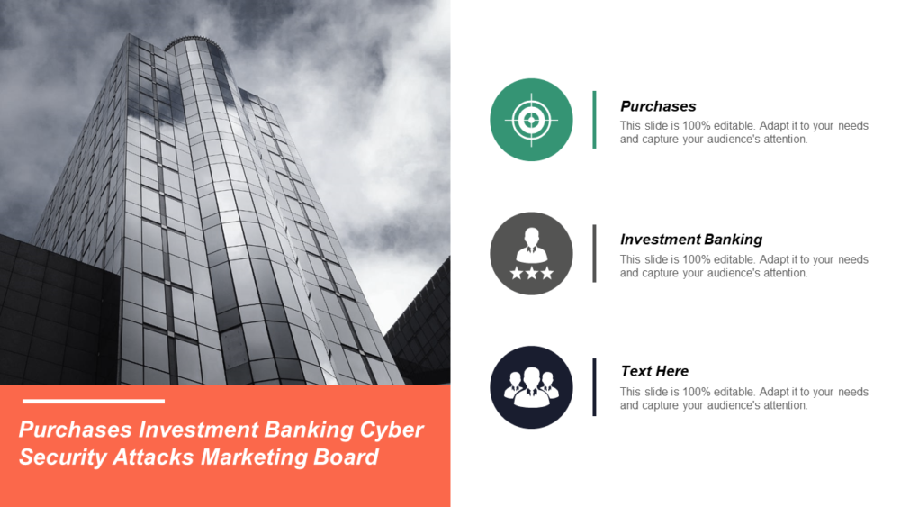 Purchases Investment Banking Cyber Security