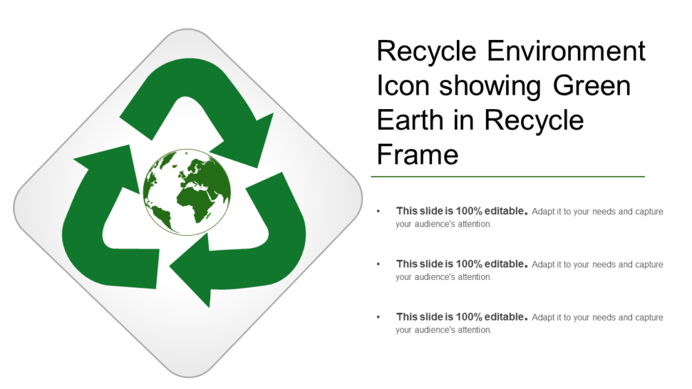 Recycle Environment Icon