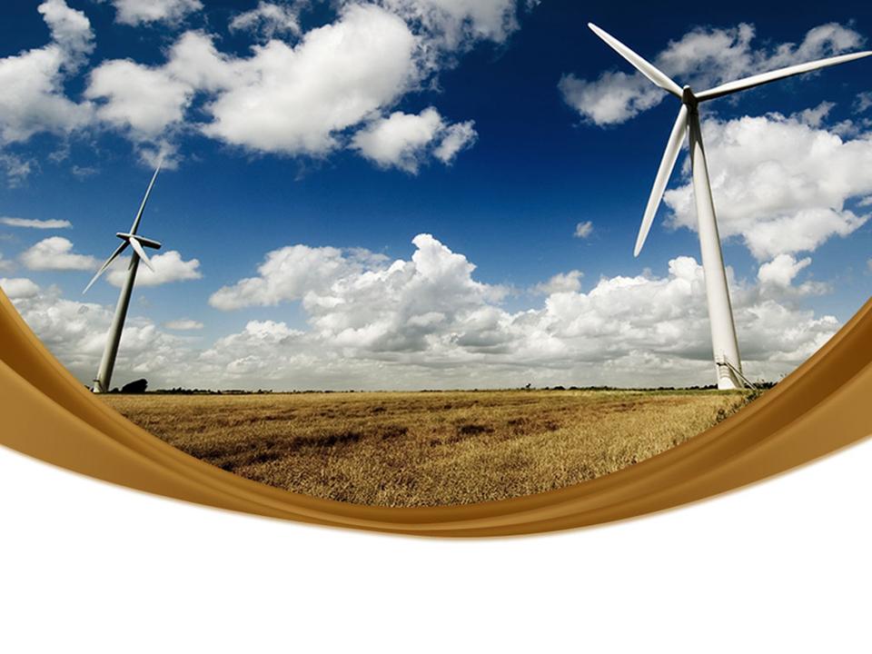 Windmills Renewable Energy Science PowerPoint Templates
