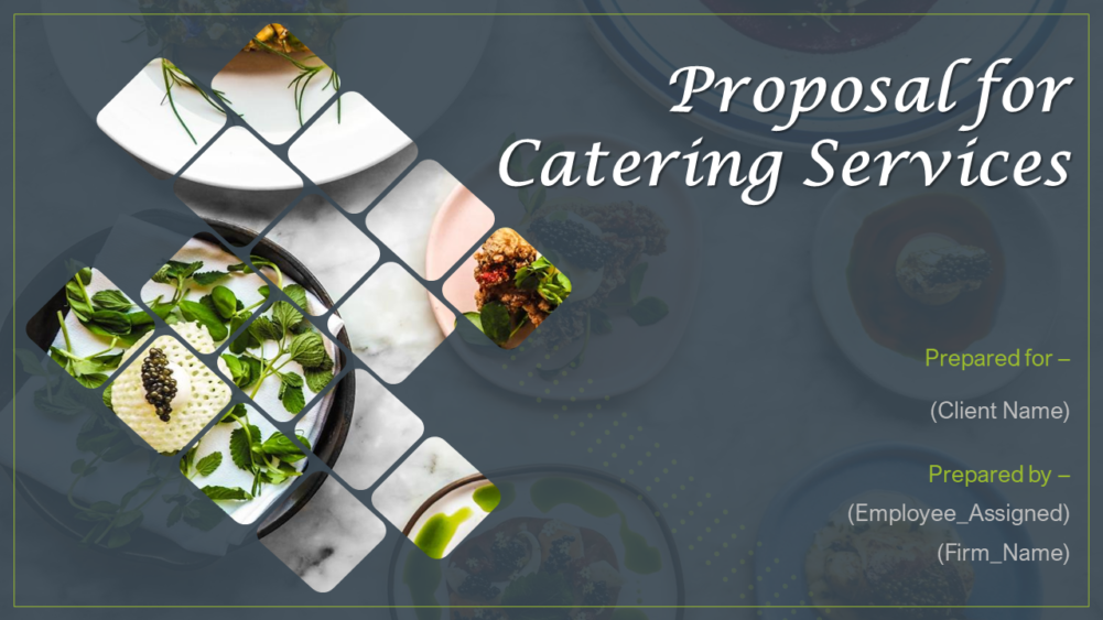 Proposal For Catering Services