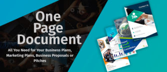One Page Document -  All You Need for Your Business Plans, Marketing Plans, Business Proposals or Pitches