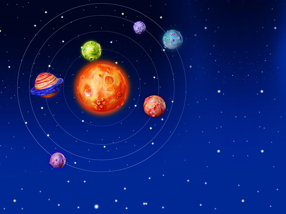 Space Planets Earth PowerPoint Templates And PowerPoint Backgrounds