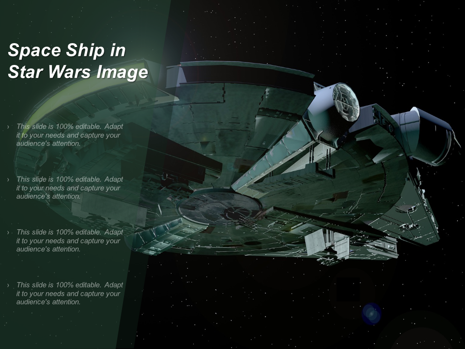 Space Ship In Star Wars Image