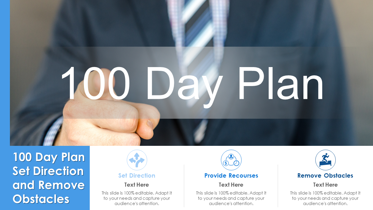 100 Day Plan Set Direction And Remove Obstacles