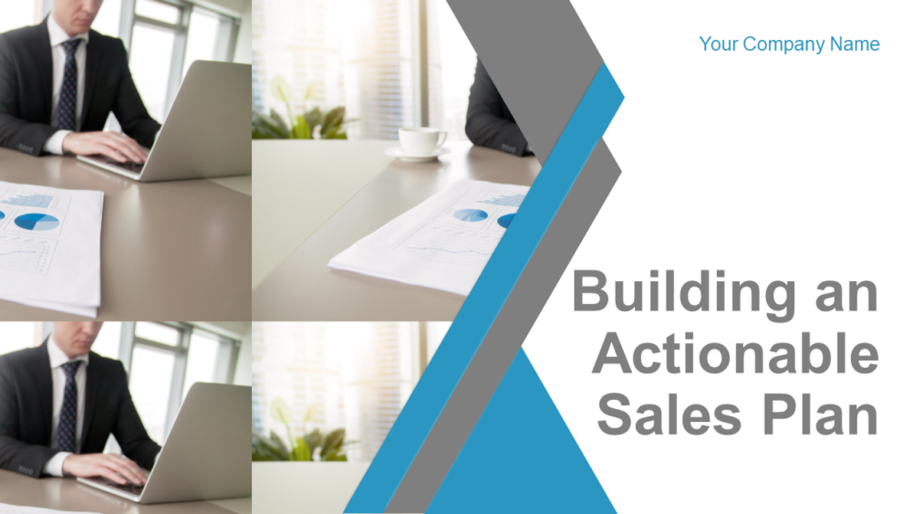 Building An Actionable Sales Plan