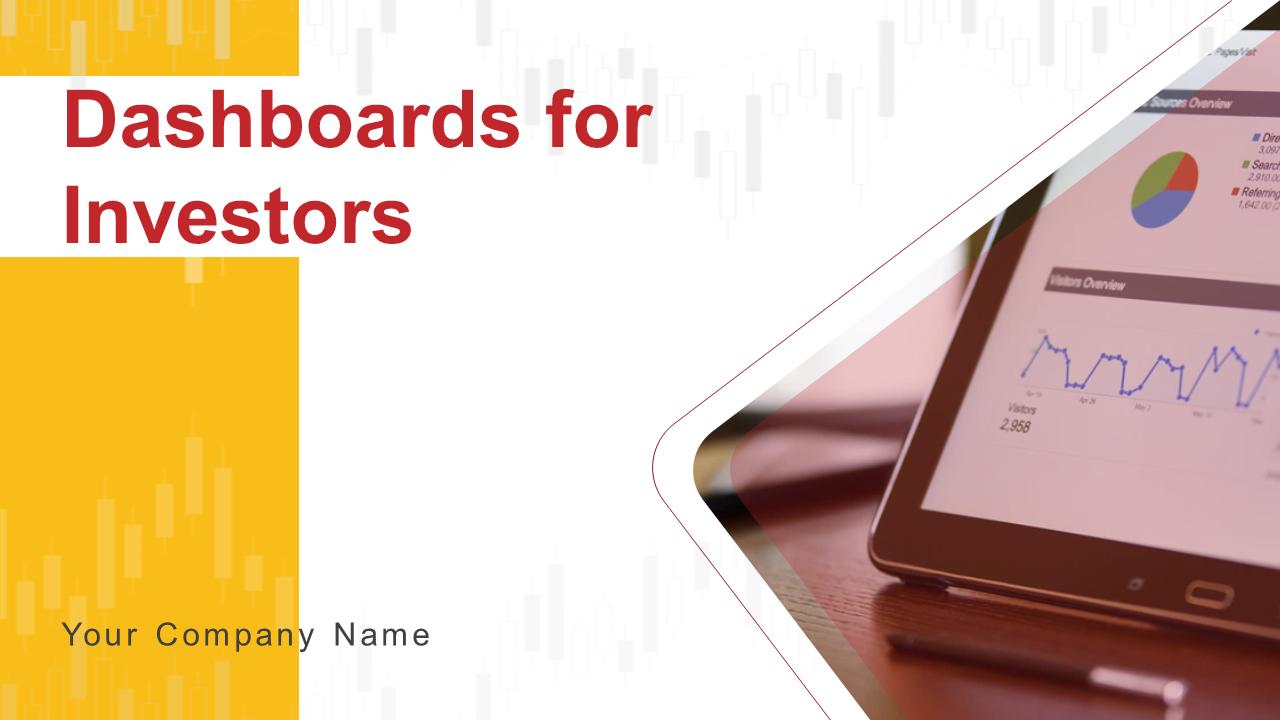 Dashboards For Investors PowerPoint Presentation Slides