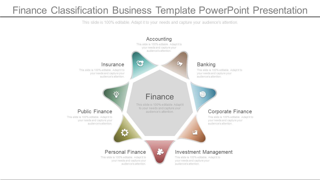 Finance Template 1
