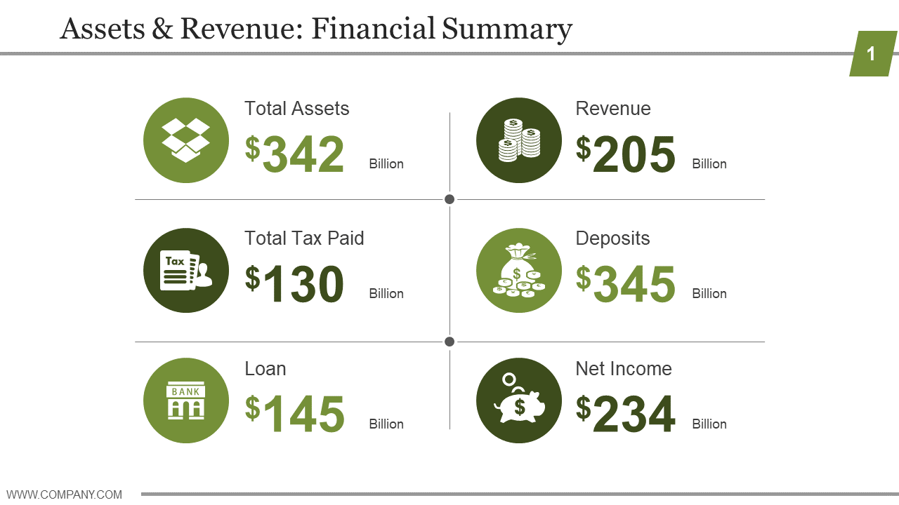 Finance Template 4