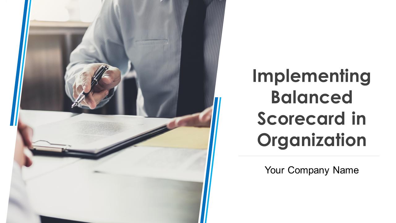 Implementing Balanced Scorecard In Organization PowerPoint Presentation Slides