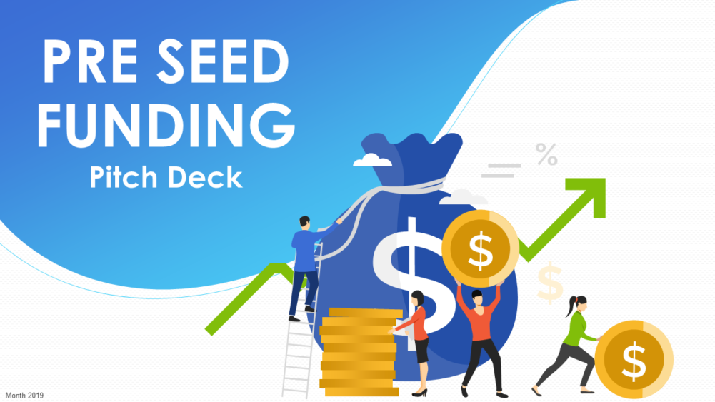 Pitch Deck For Pre Seed Funding