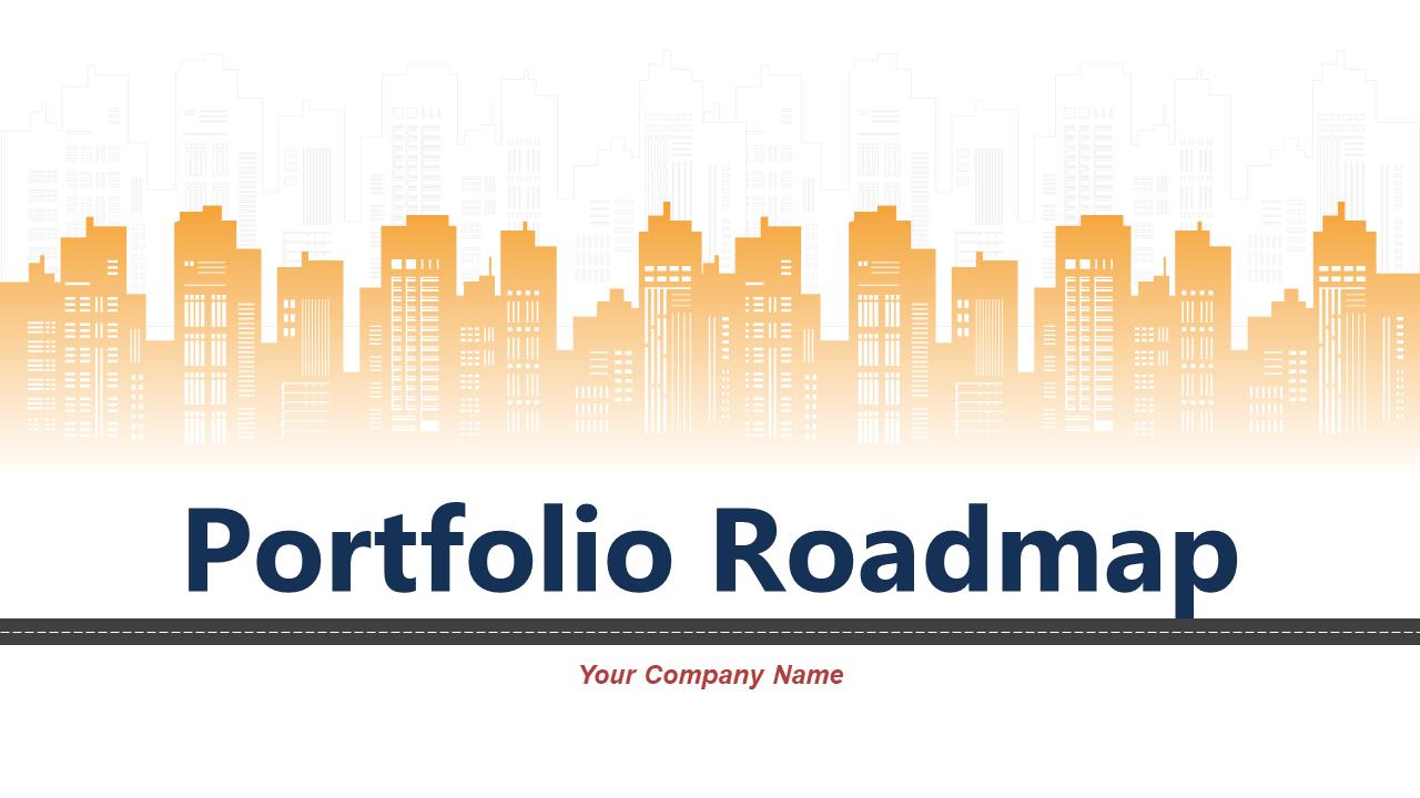 Portfolio Roadmap PowerPoint Presentation Slides