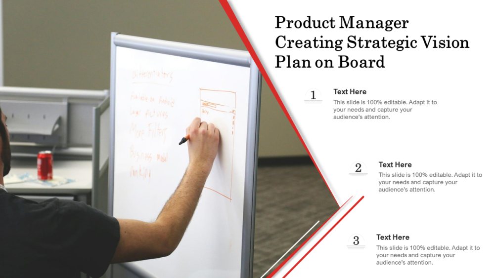 Product Manager Creating Strategic Vision Plan