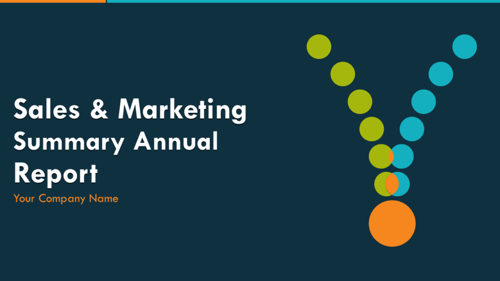 Sales And Marketing Summary Annual Report