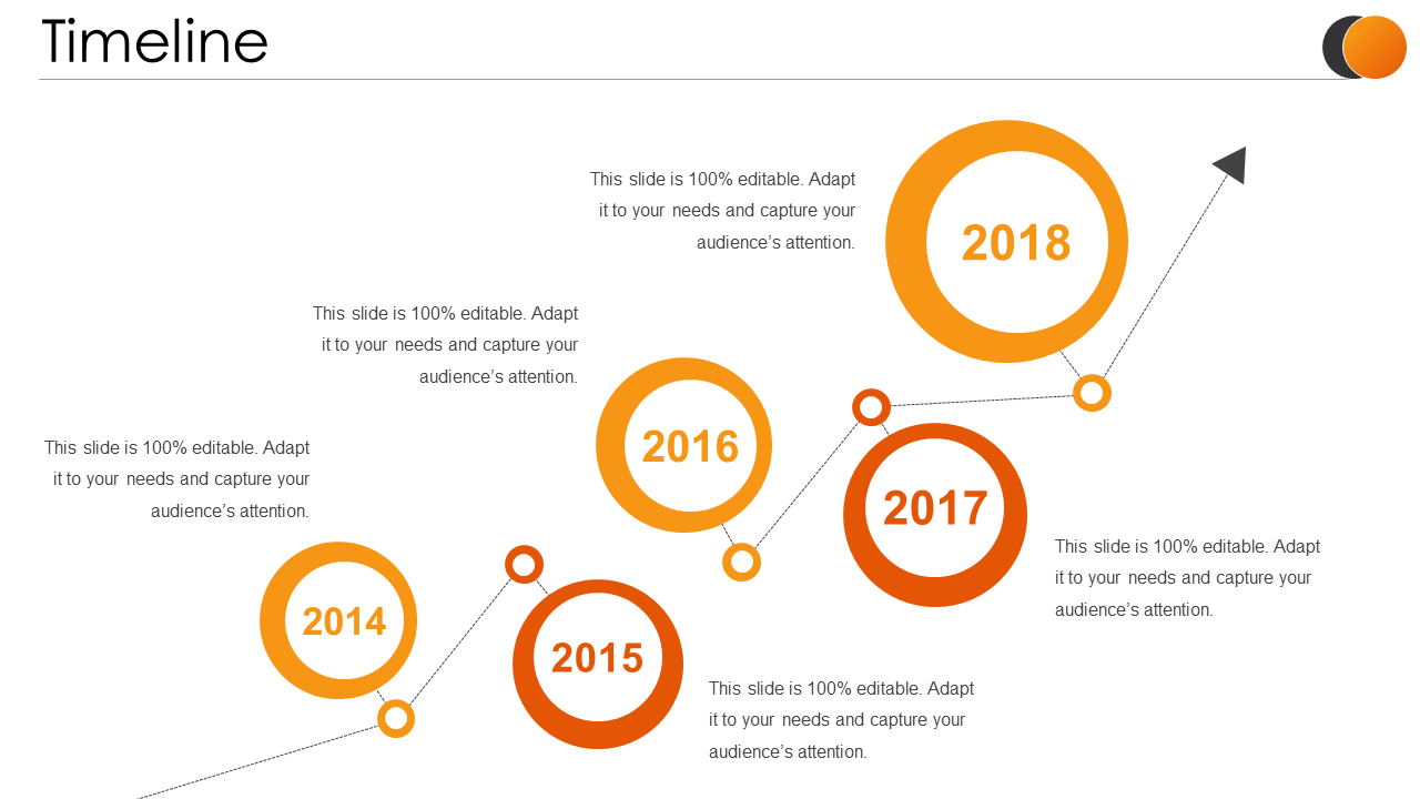 Timeline PPT Infographic Template
