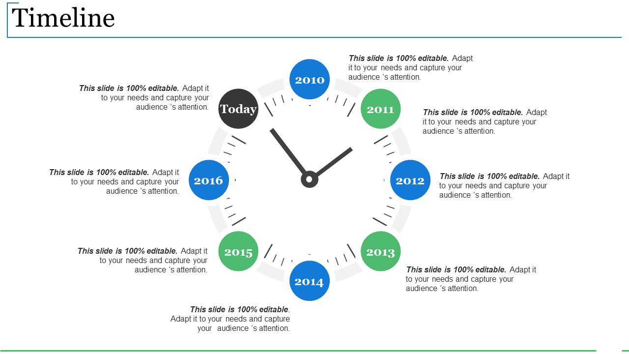 Timeline PowerPoint Slide Rules