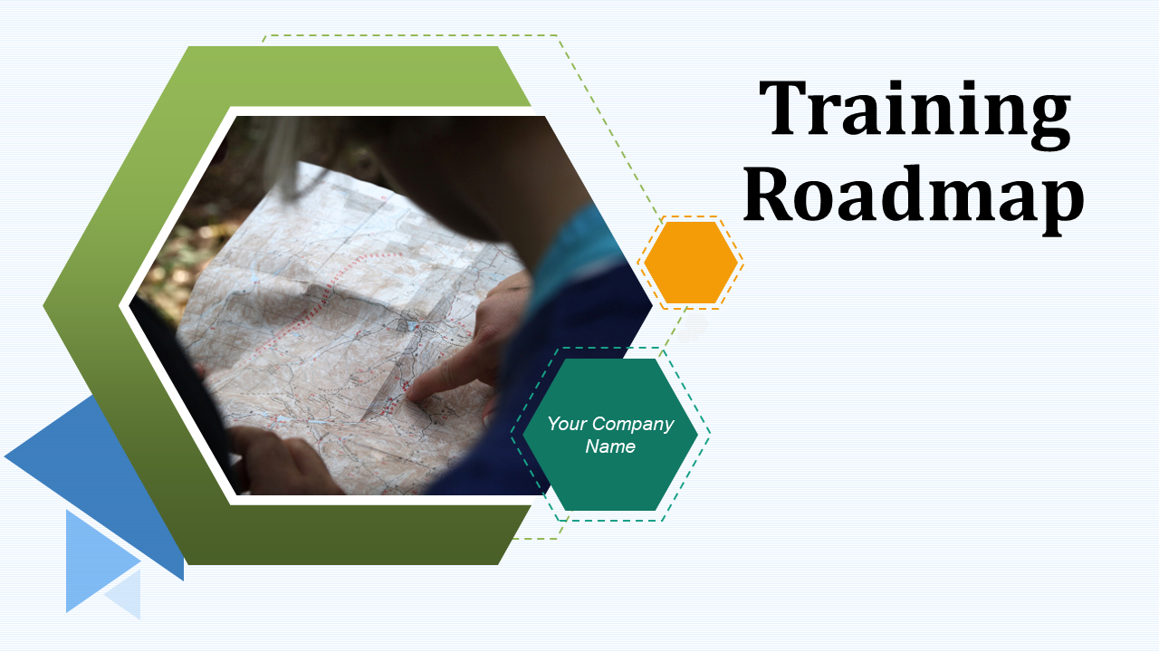 Training Roadmap PowerPoint Presentation Slides