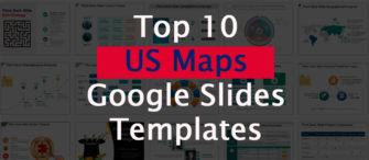 Top 10 US Maps Google Slides Templates For Business Topography