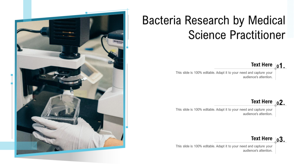 Bacteria Research By Medical Science Practitioner
