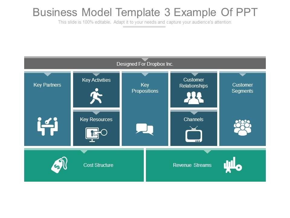 Business Model Canvas Template 18