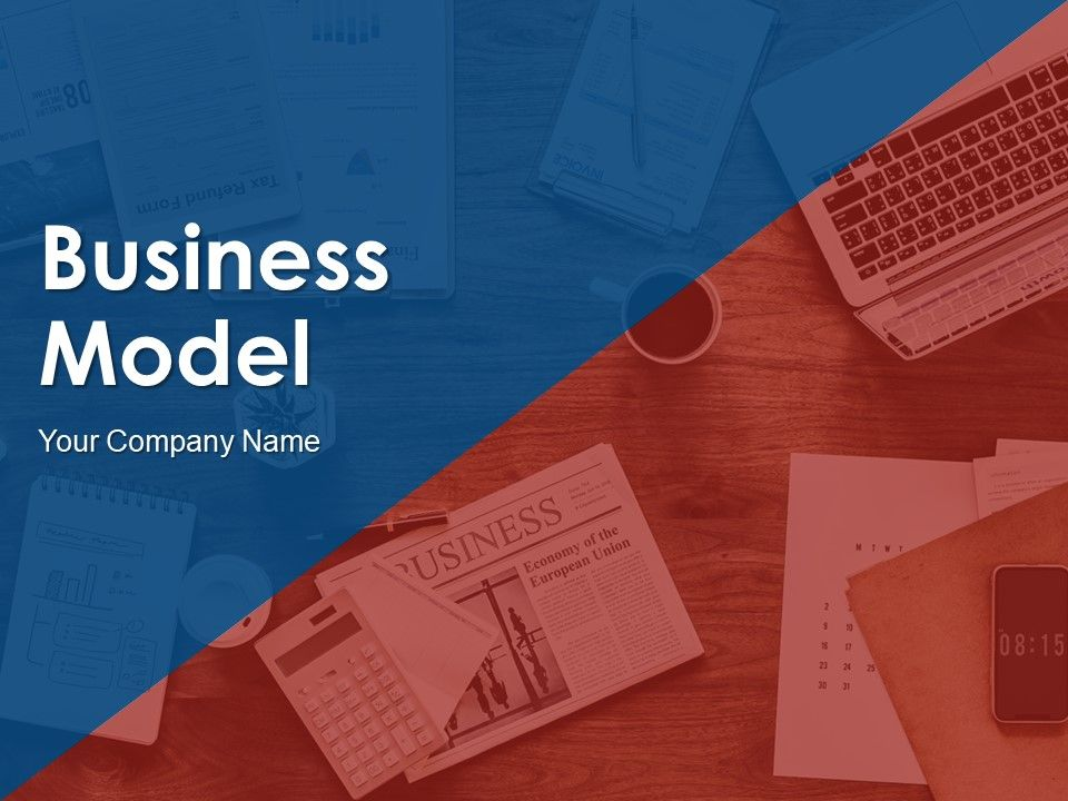Business Model Canvas Template 5