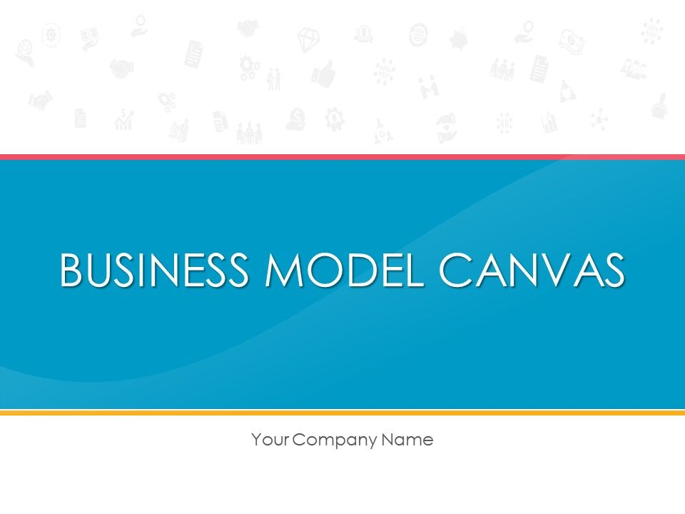 Business Model Canvas Template 6