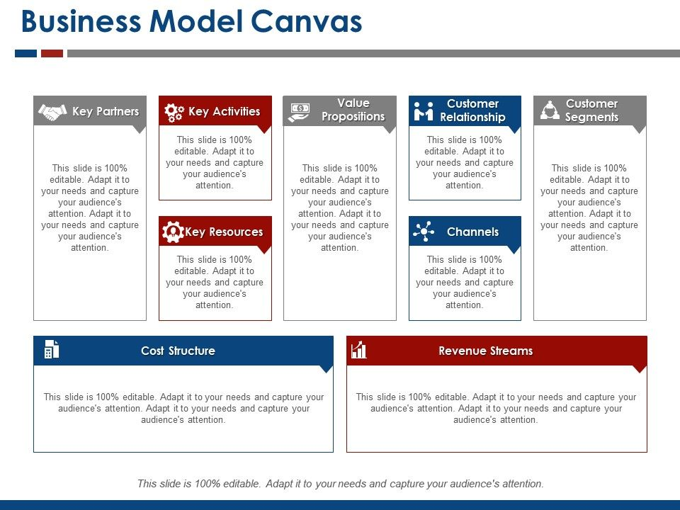 Business Model Canvas Template 8